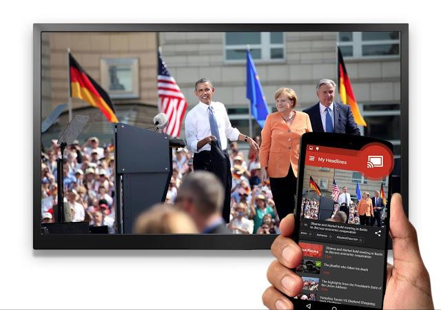 Haystack TV Chromecast